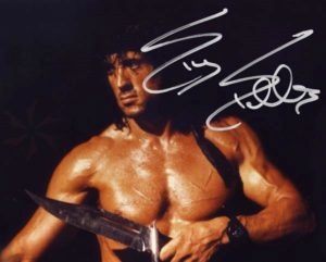 Rambo 3 signed pic