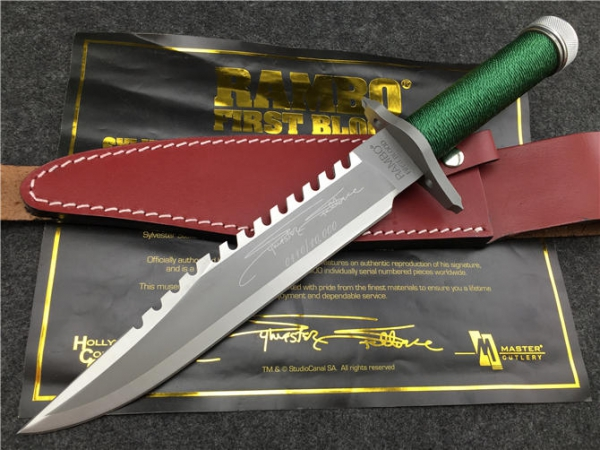 Rambo first blood knife with letter of authenticity